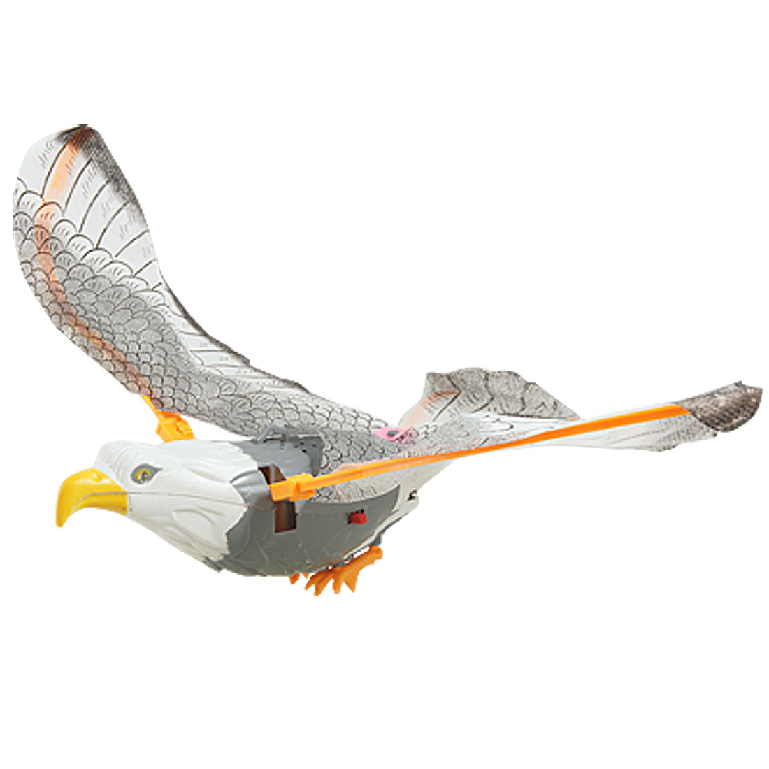 Children Gray Electrical Flying Light Sound Eagle Toy