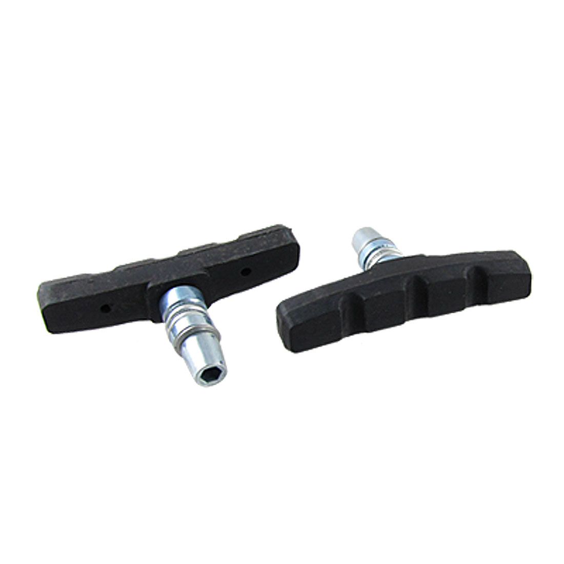 Mountain Bicycle Black Road Bike Rubber Brake Pads Pair