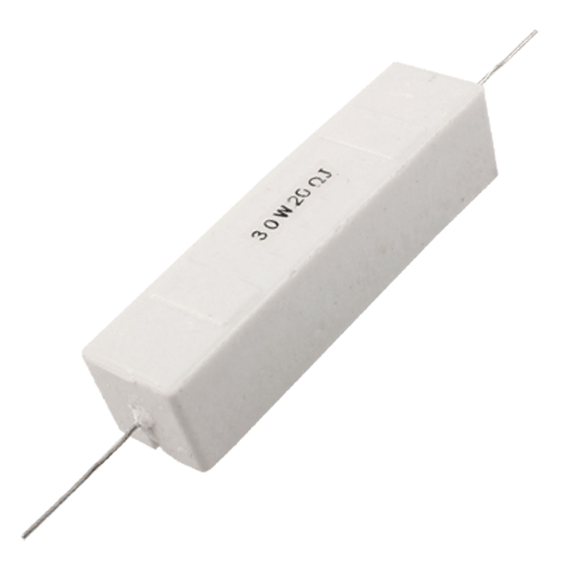 DIP Mount Ceramic Cement Resistor 20 Ohm 30W Watt 20 Ohm