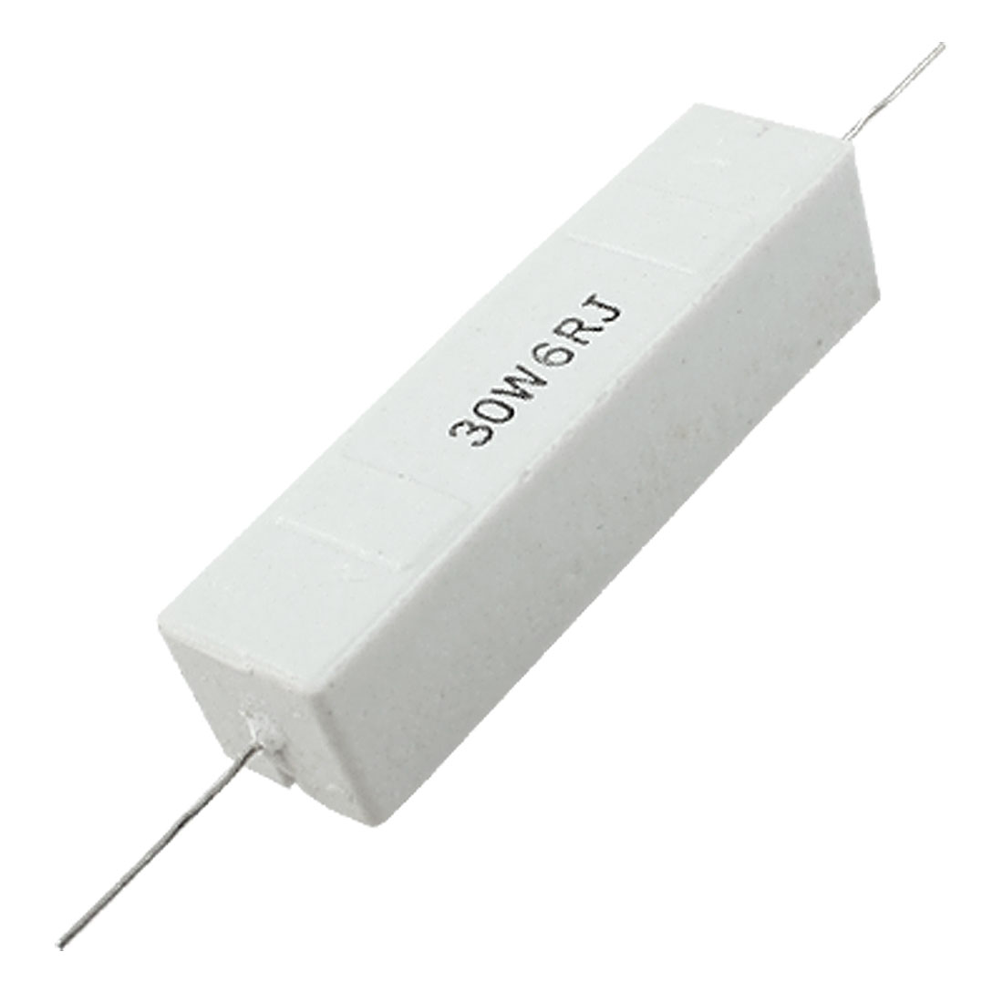 30W Watt 6 Ohm 5% Wirewound Ceramic Cement Resistor