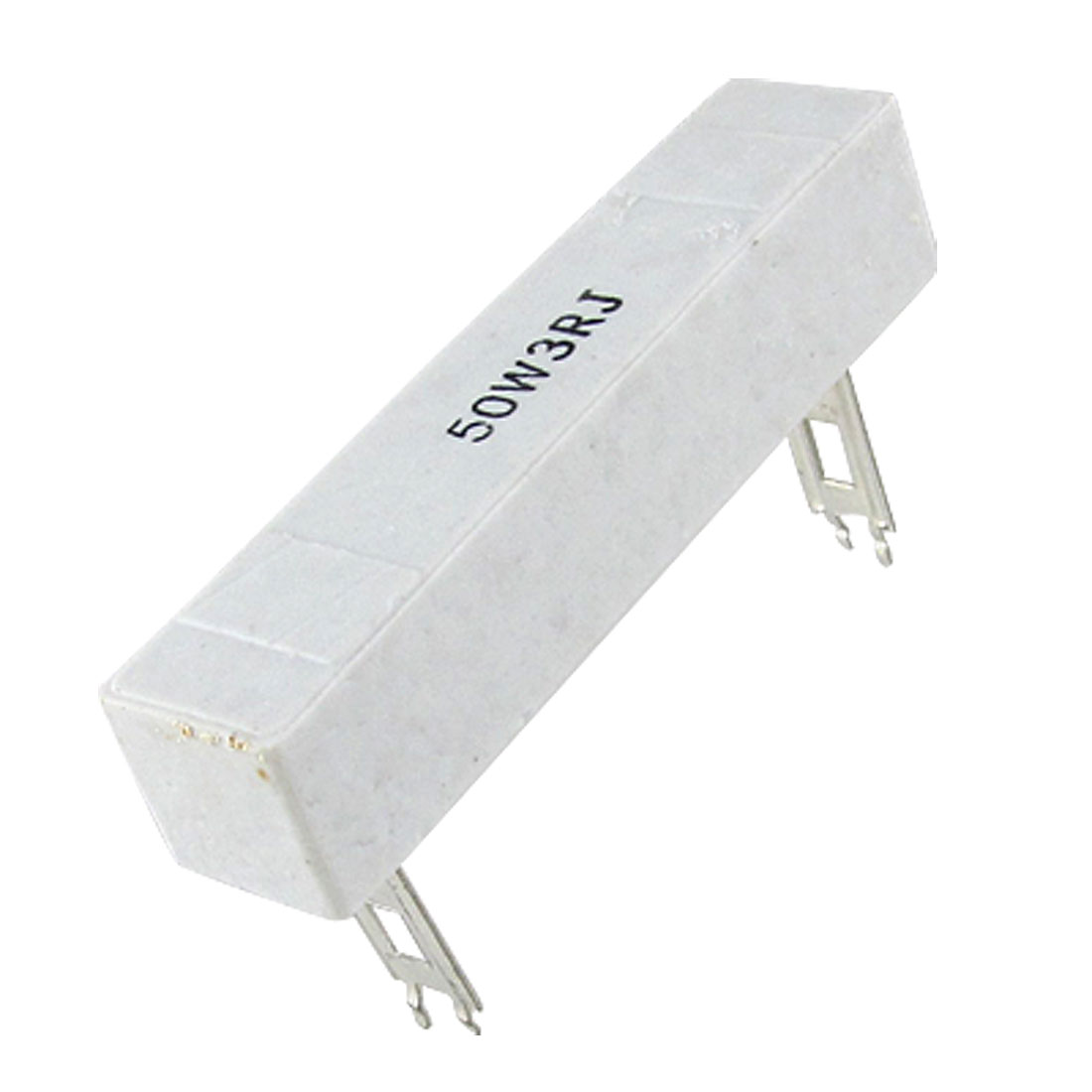 3 Ohm 5% 50W Watt Wirewound Ceramic Cement Resistor