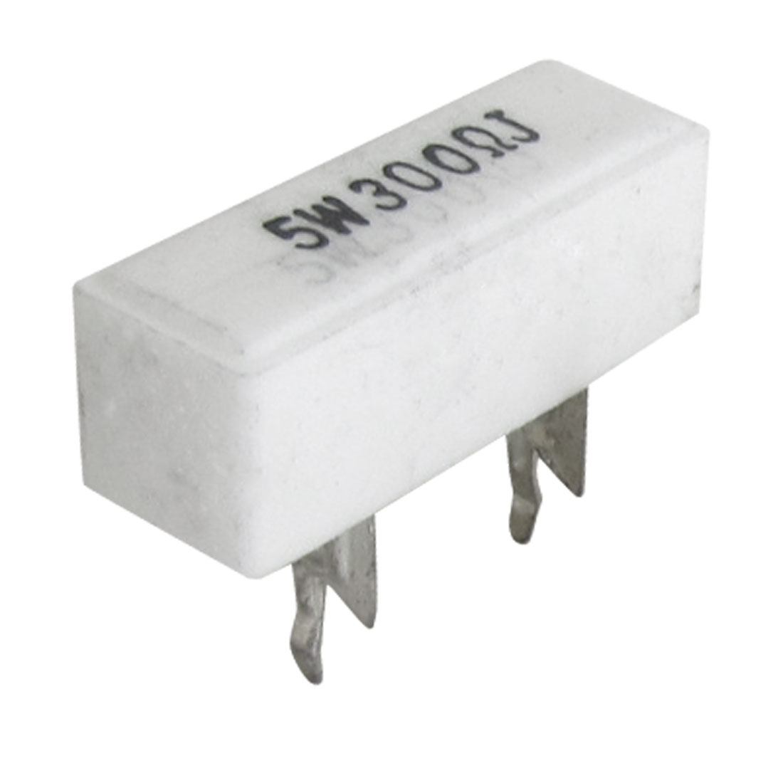 5% 300 Ohm 5W Watt DIP Ceramic Cement Resistors 10 Pcs