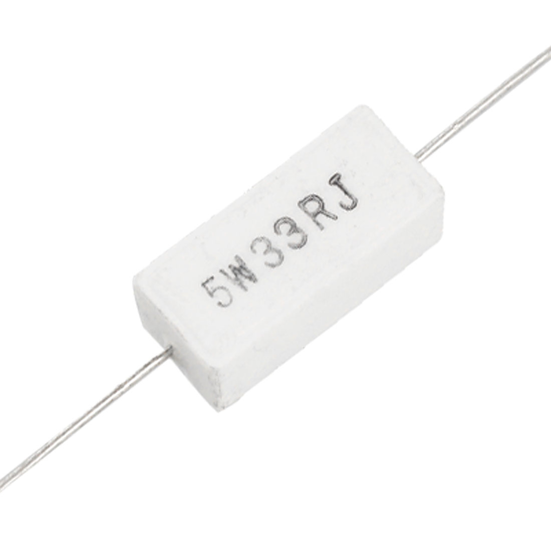 10 x 5% 33 Ohm 5W Watt Ceramic Cement Power Resistors