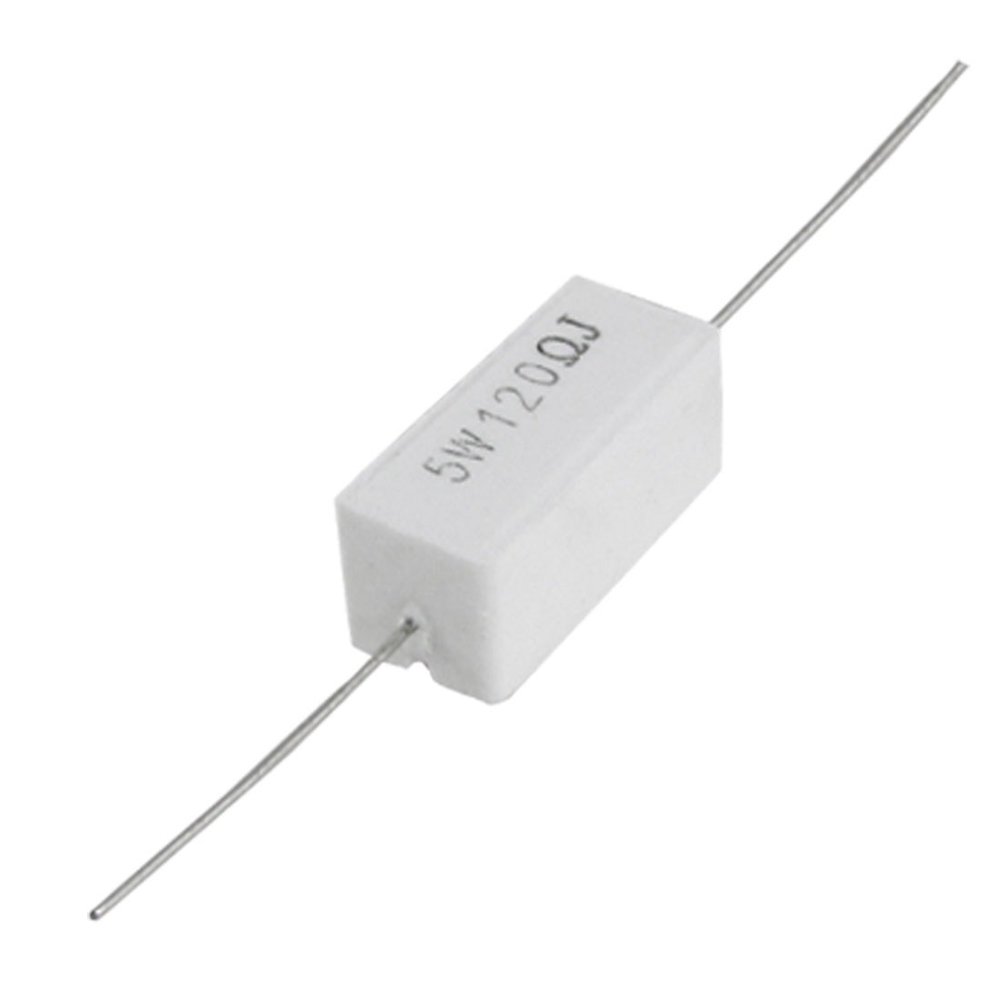 10x 5W 120 Ohm 5% Axial Ceramic Cement Power Resistors