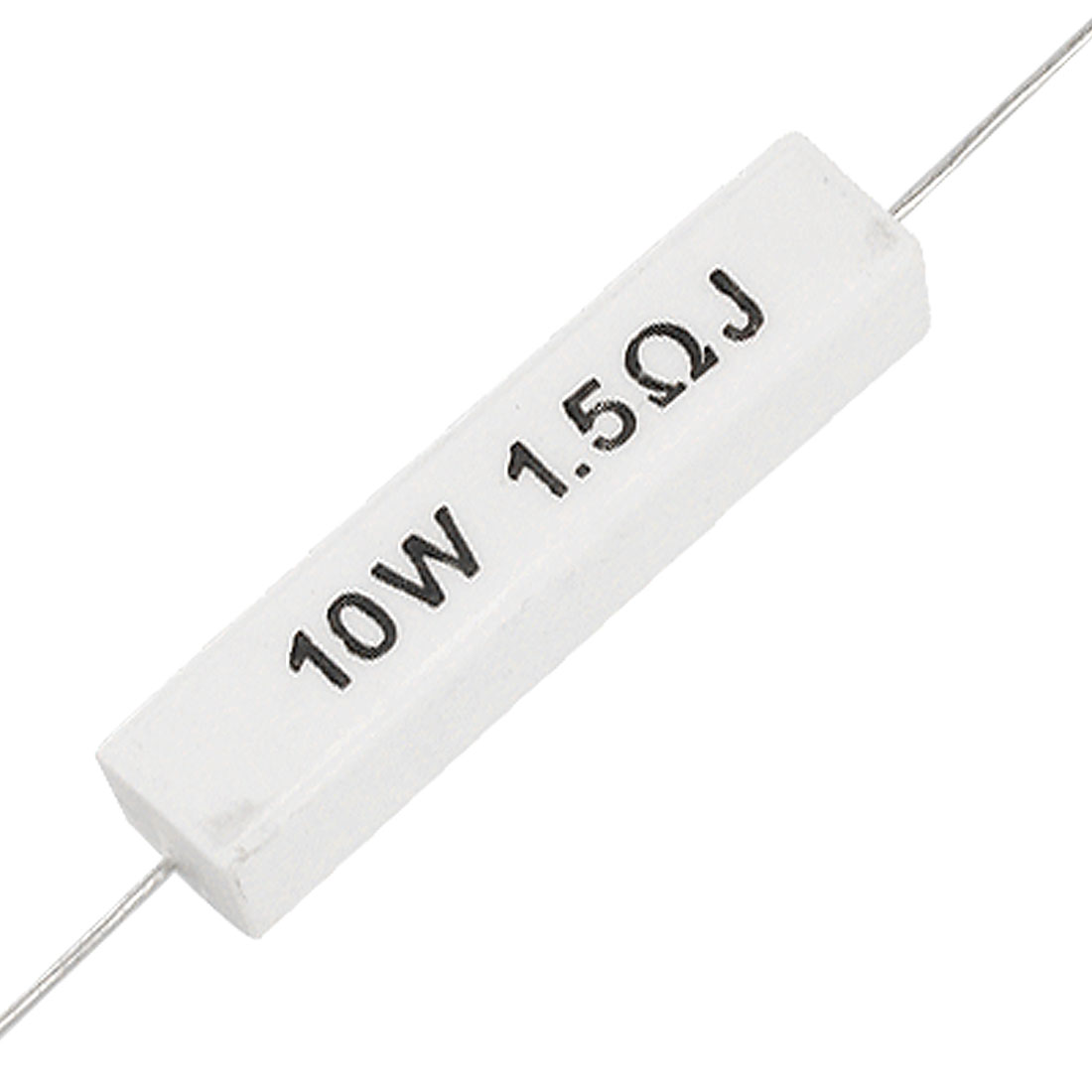 5x Axial Lead Ceramic Cement Resistors 1.5 ohm 1R5 10W 5%
