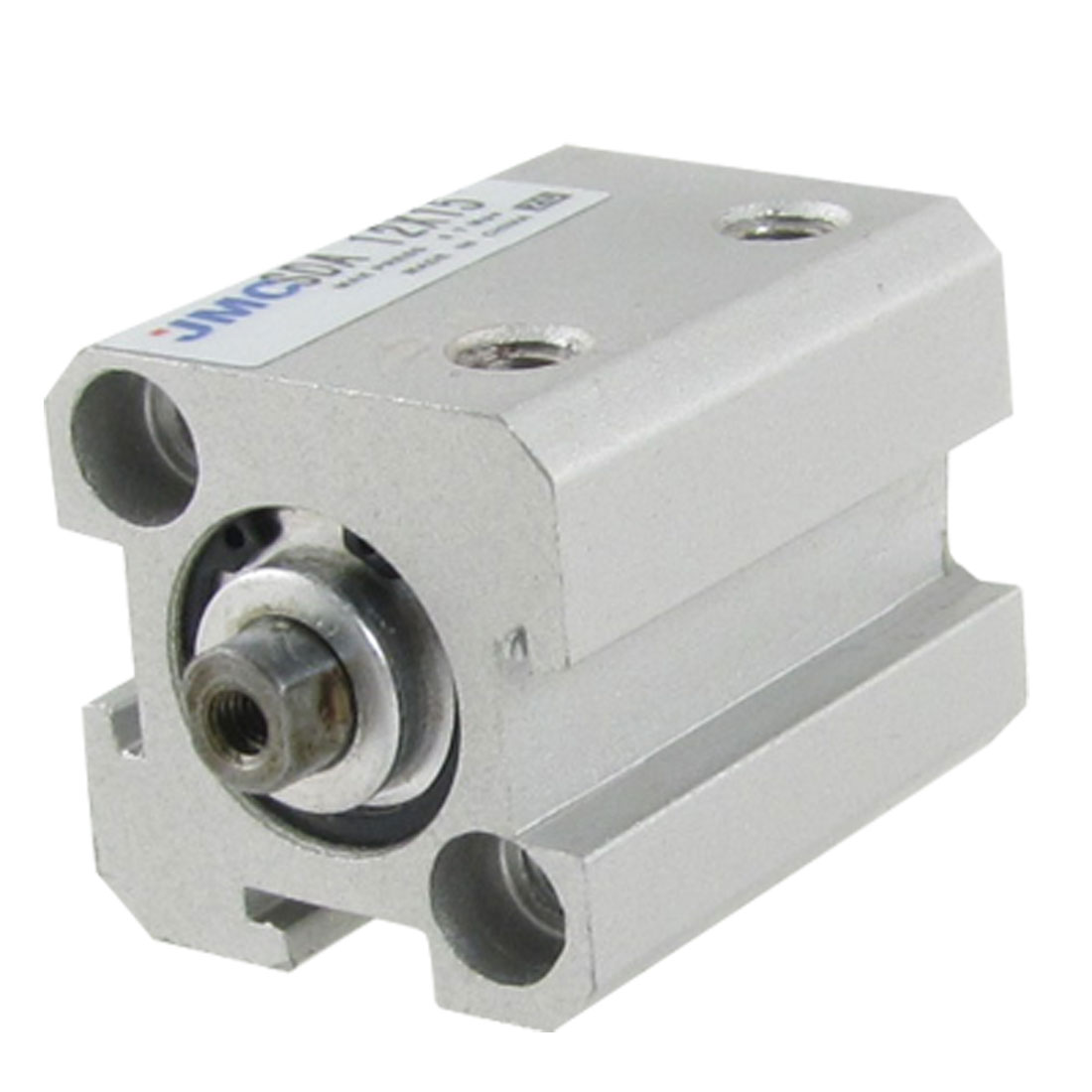 Single Rod 12mm Bore 15mm Stroke Pneumatic Air Thin Cylinder