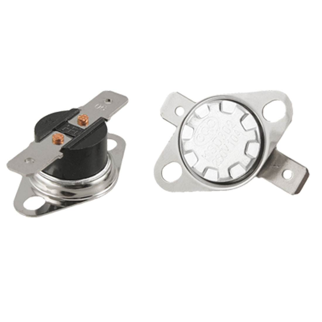 2 x KSD302 90 Celsius Temperature Control Switch Thermostat N.O.