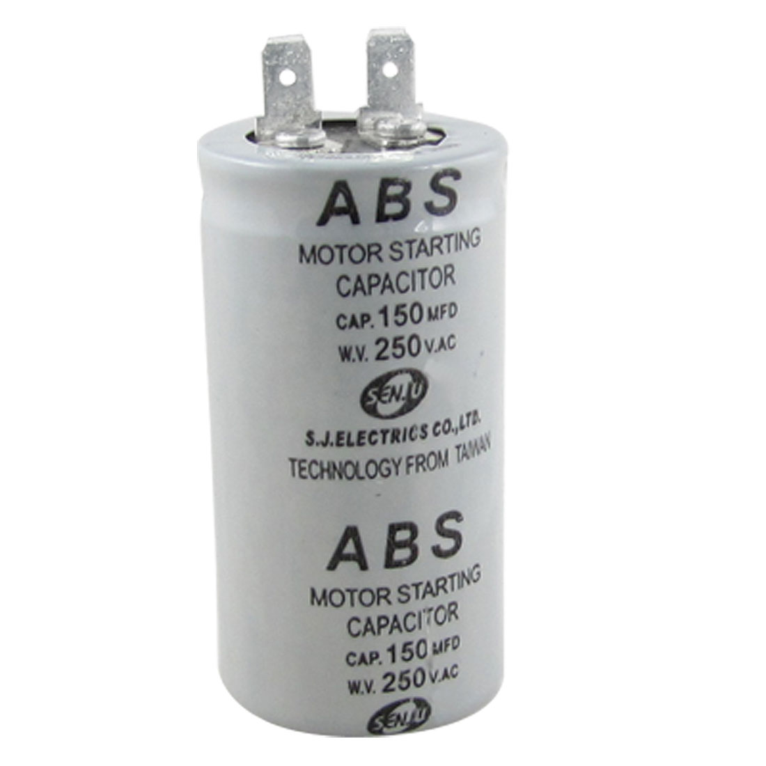 ABS Series 150MFD 150UF 250V AC Motor Starting Capacitor
