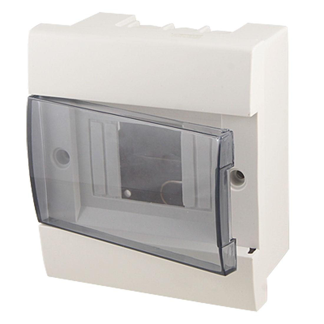 Plastic Miniature Circuit Breaker Housing Cover Case White