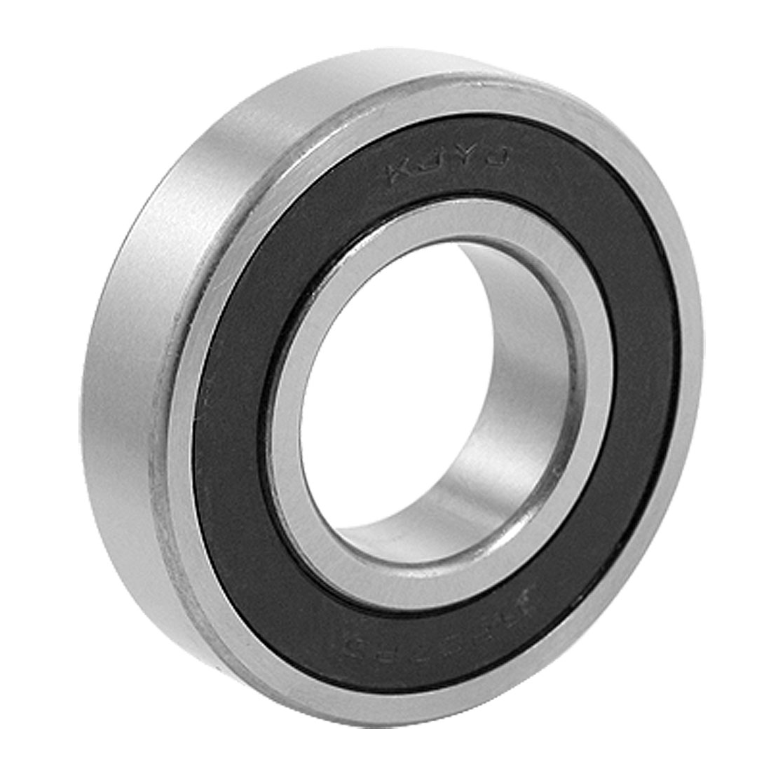 6207RS 35 x 72 x 17mm Black Rubber Sealed Deep Groove Ball Bearing