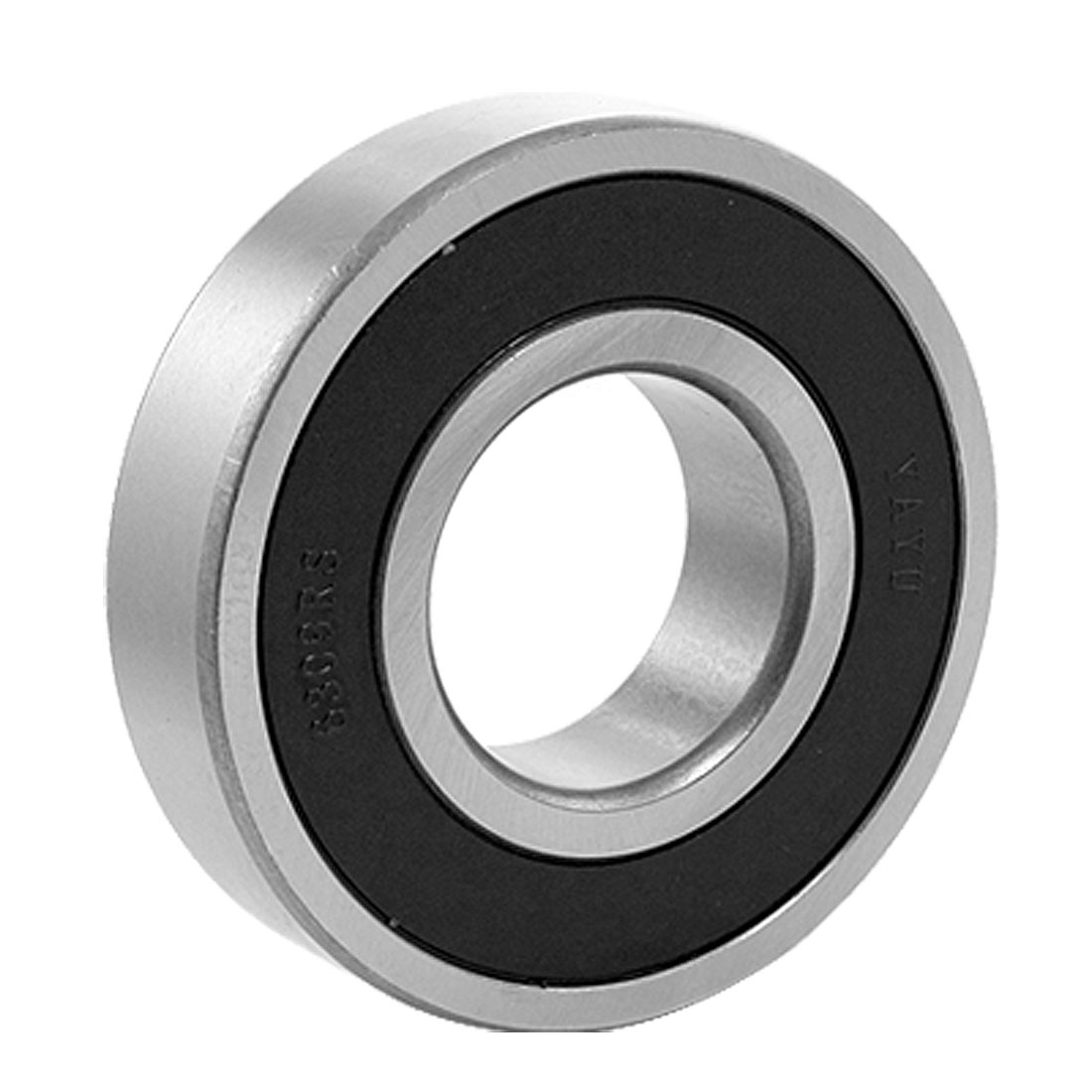 6309RS Black Rubber Sealed 45 x 100 x 25mm Deep Groove Ball Bearing