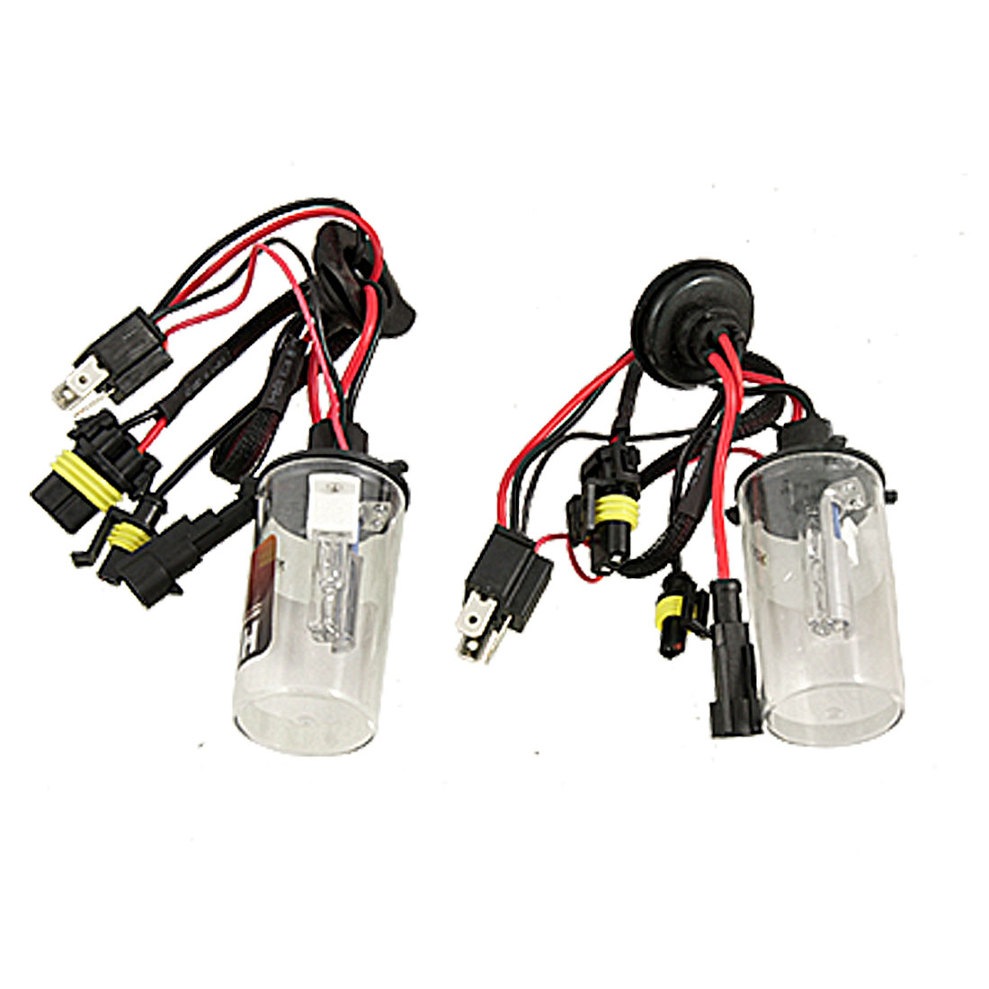 8000K 35W H4 HID Xenon Light Bulb Headlight Conversion Kit