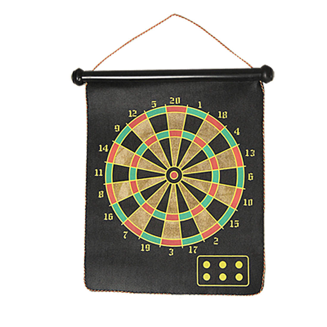 Two-Sided Magnet Dart Board Rectangle Dartboard Toy