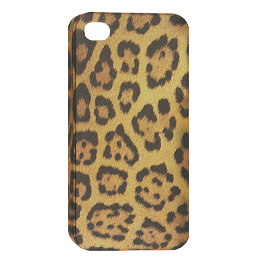 Protective Hard Plastic Leopard Print Back Case for iPhone 4 4G 4S