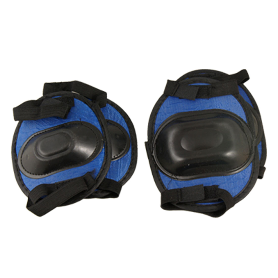 Roller Skating Elbow Knee Pad Protector Blue Black for Children