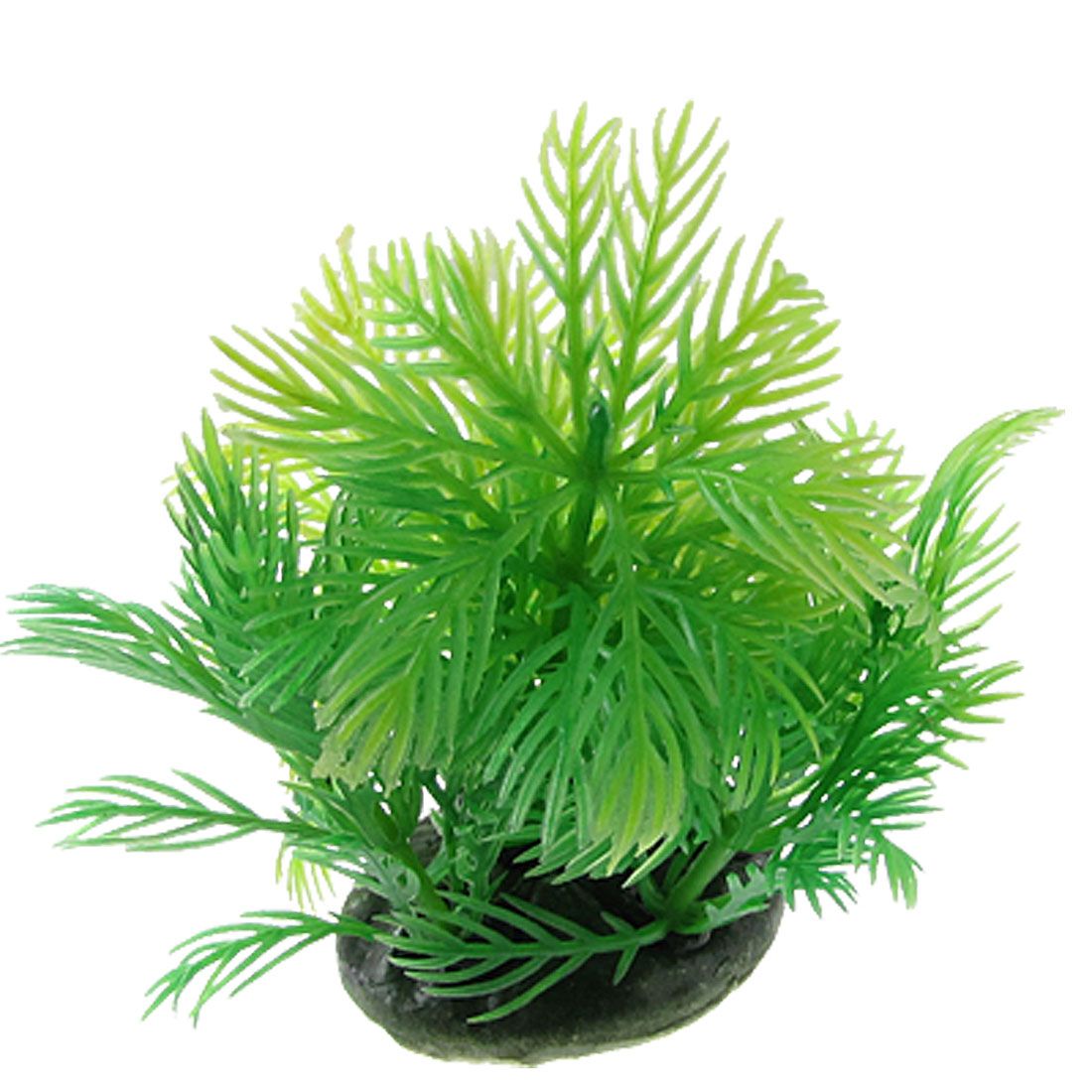 Green Plastic Plants Aquascaping Ornament for Aquarium Fish Tank