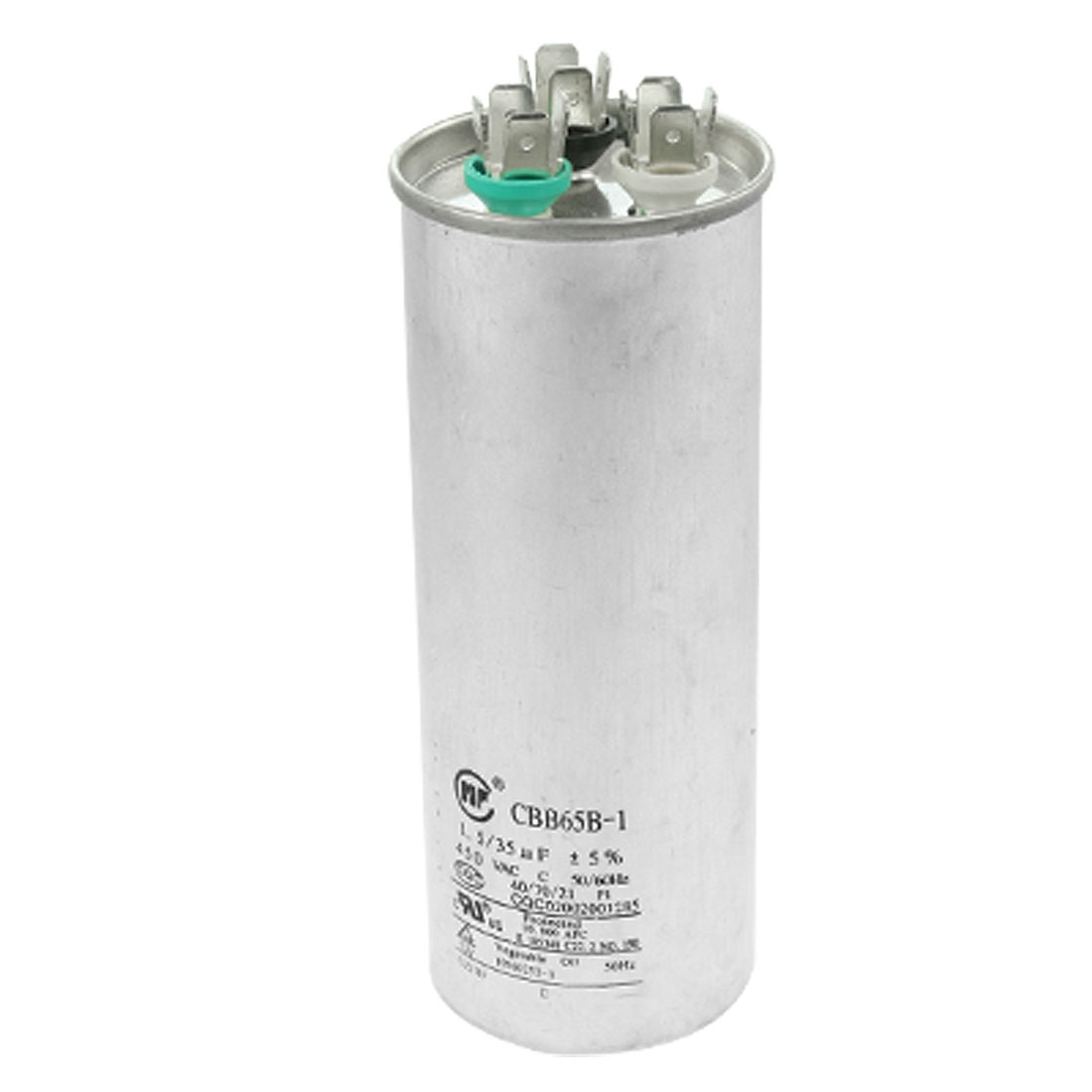 CBB65B-1 450VAC 50/60Hz 1.5uF+35uF Air Conditioner Capacitor