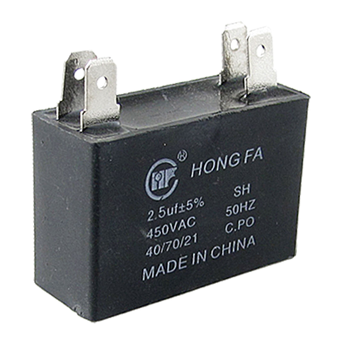 Air Conditioner Running 2.5uF 450V AC Polypropylene Capacitor