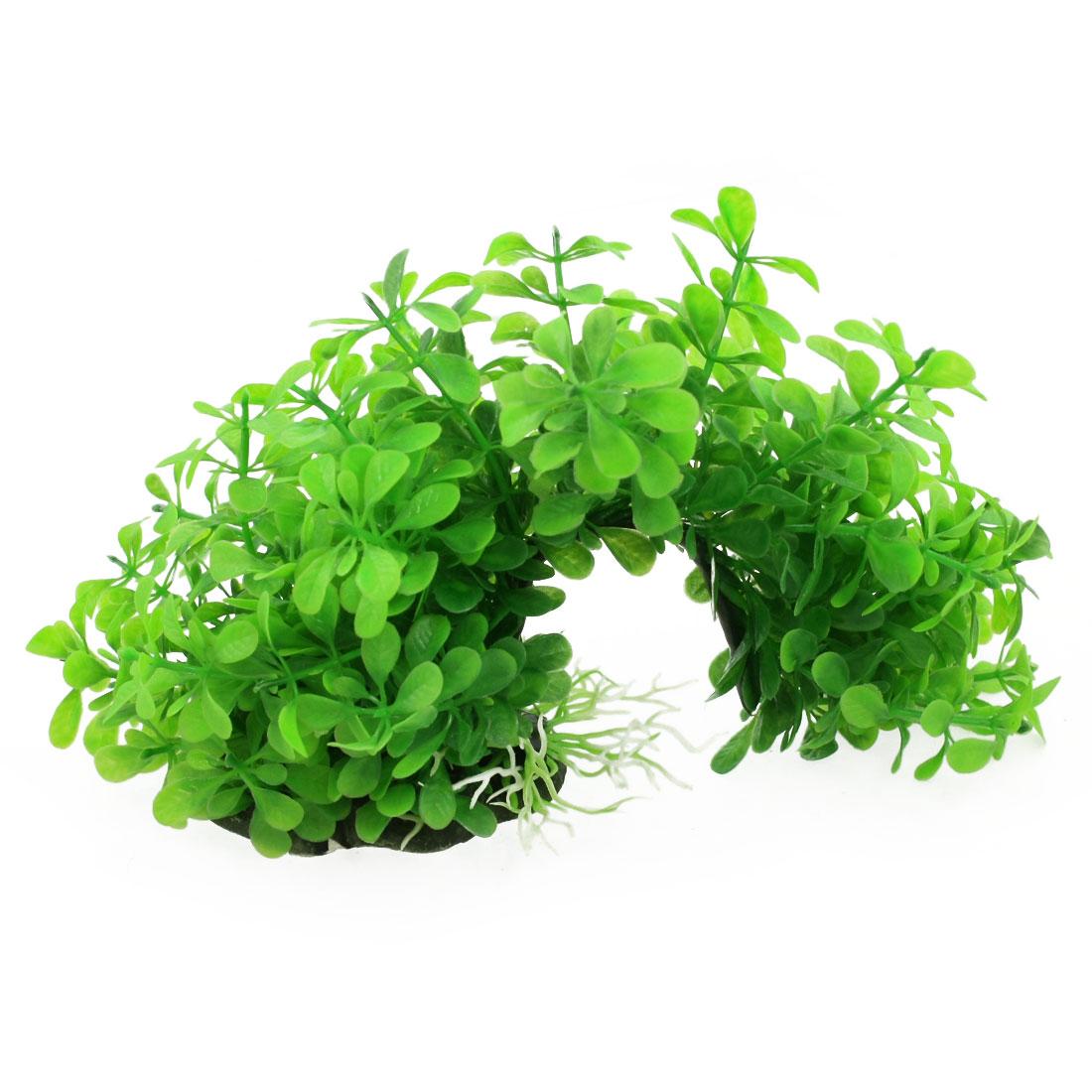 "Aquarium 8.6"" Width Emulational Curved Plants Green Aquascaping"