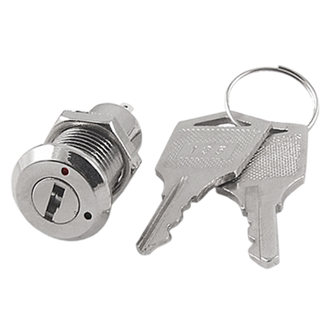 Electric 2 Positions ON OFF Metal Keylock Switch w Keys