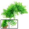 Aquarium Artificial Green Five Leaf Arch Style Plant Aquascaping Decor