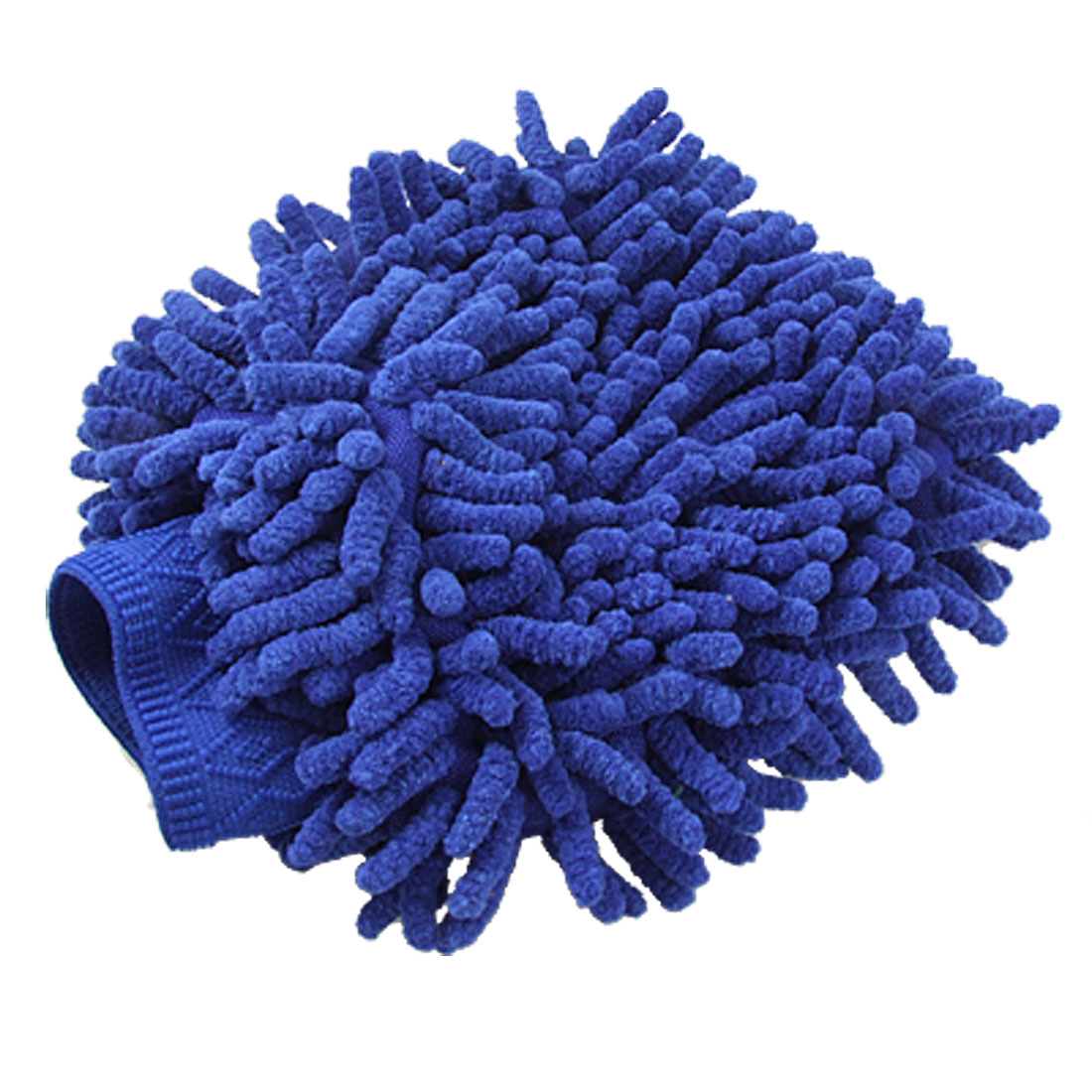 Auto Car Washing Blue Glove Microfiber Wash Mitt