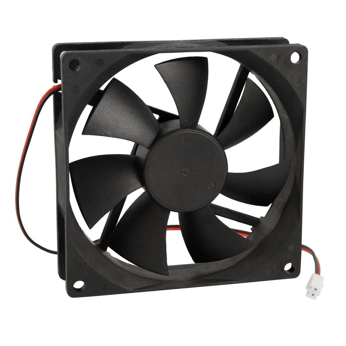 90mm x 25mm DC 12V 2 Terminals Cooling Fan for Computer Case CPU Cooler