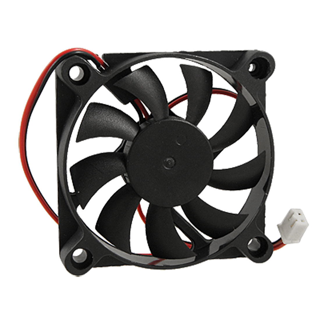 Desktop Computer PC Case DC 12V 0.16A 60mm 2 Terminals Cooler Cooling Fan