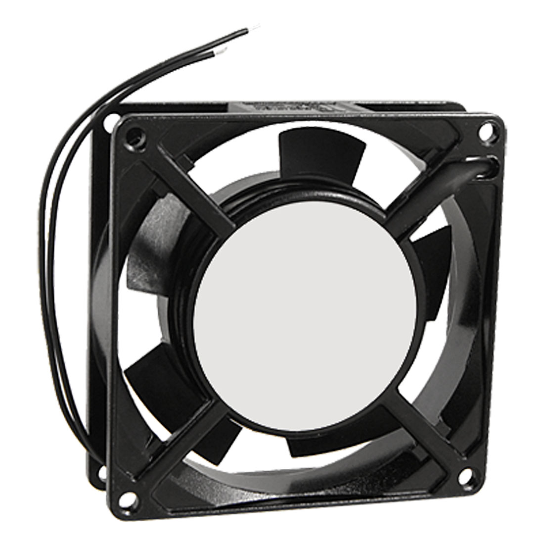 Ventilation AC 220-240V 2 Wire 90 x 90 x 25mm Metal Axial Cooling Fan