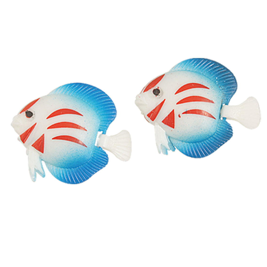 Plastic Swing Tail Water Floating Vivid Simulation Fish 2 Pcs
