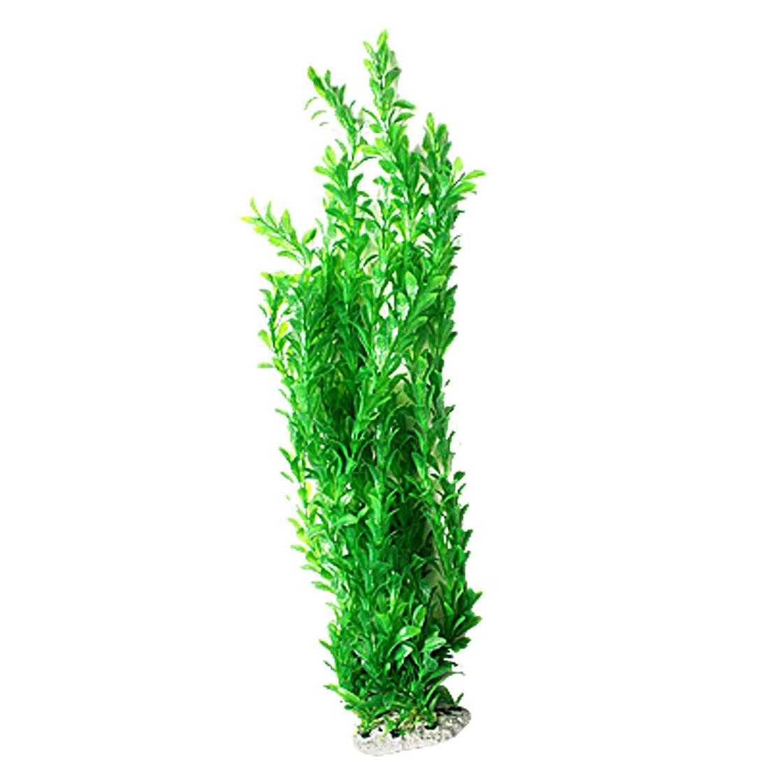 Fish Tank Aquarium Decorative Green Plastic Aquatic Plant