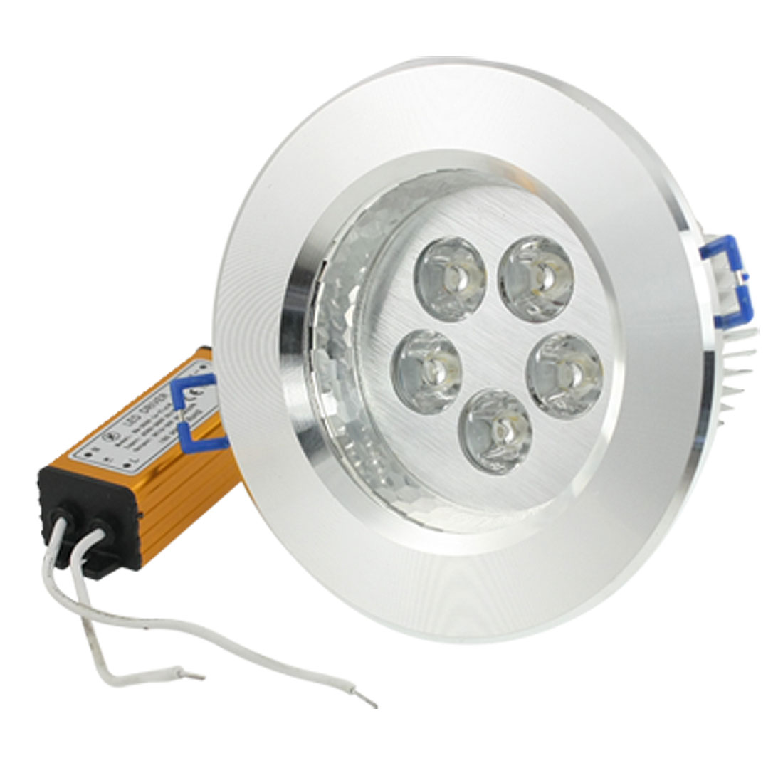 5W 5 LEDs Warm White Ceiling Recessed Down Light Bulb w Transformer Driver