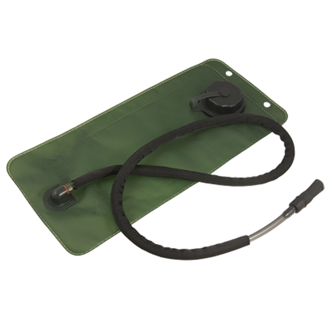 Camping Hiking 2.5L TPU Hydration Water Bladder Bag Holder Army Green