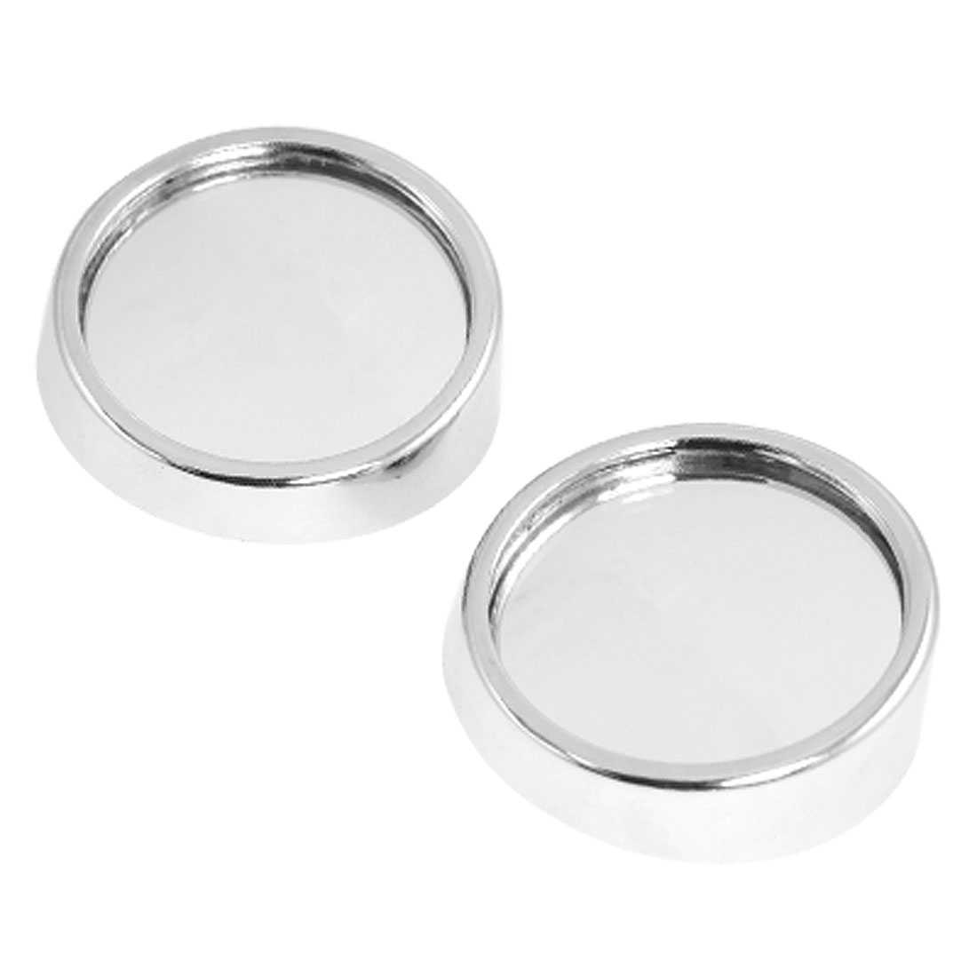 "Vehicle Car 2.1"" Diameter Round Convex Stick-on Blind Spot Mirror 2 Pcs"