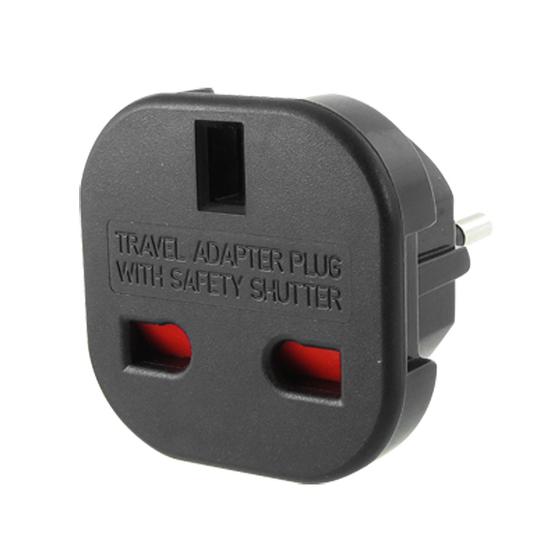 EU Plug to UK 3 Pin Socket 10A/16A AC 240V Convert Plug Adapter