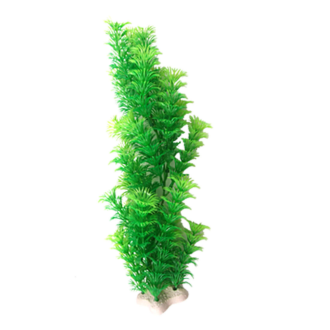 Fish Tank Aquarium Green Plastic Cabomba Plants Decoration