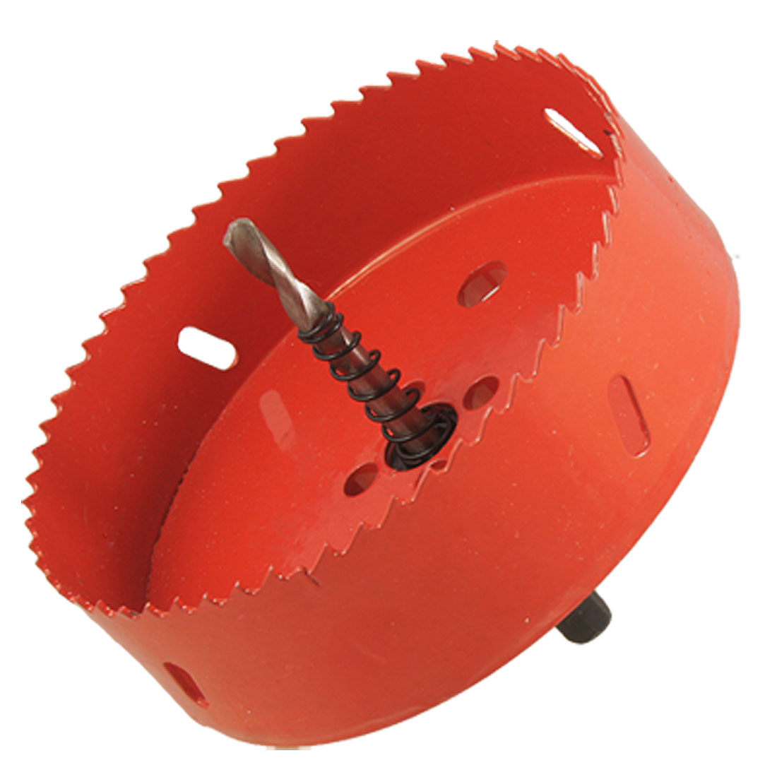Drill Bit 120mm Long Red Metal Hole Saw Set for Drilling Wood