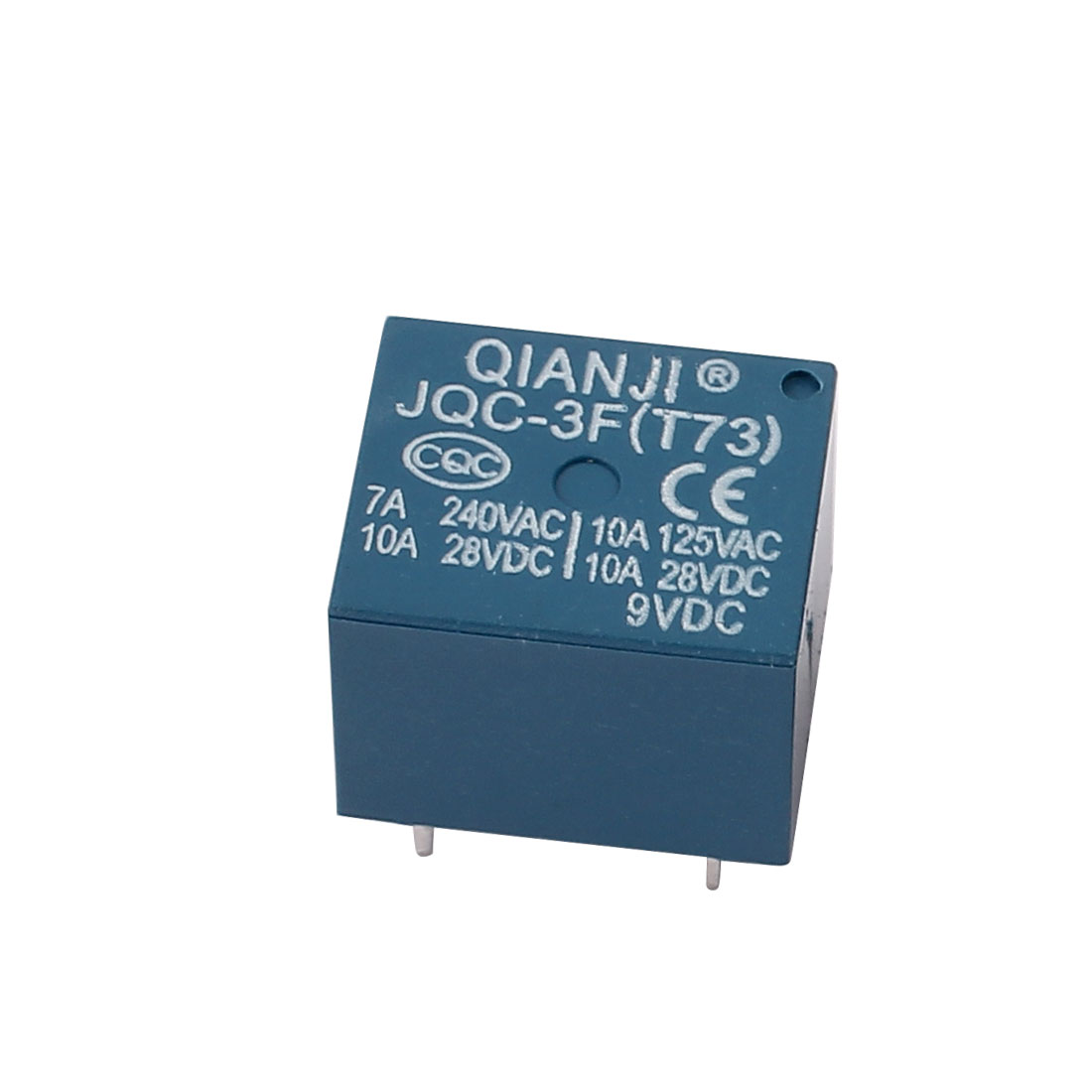 JQC-3F(T73) DC 9V Coil Voltage 5 Terminal Mini Power Relay SPDT