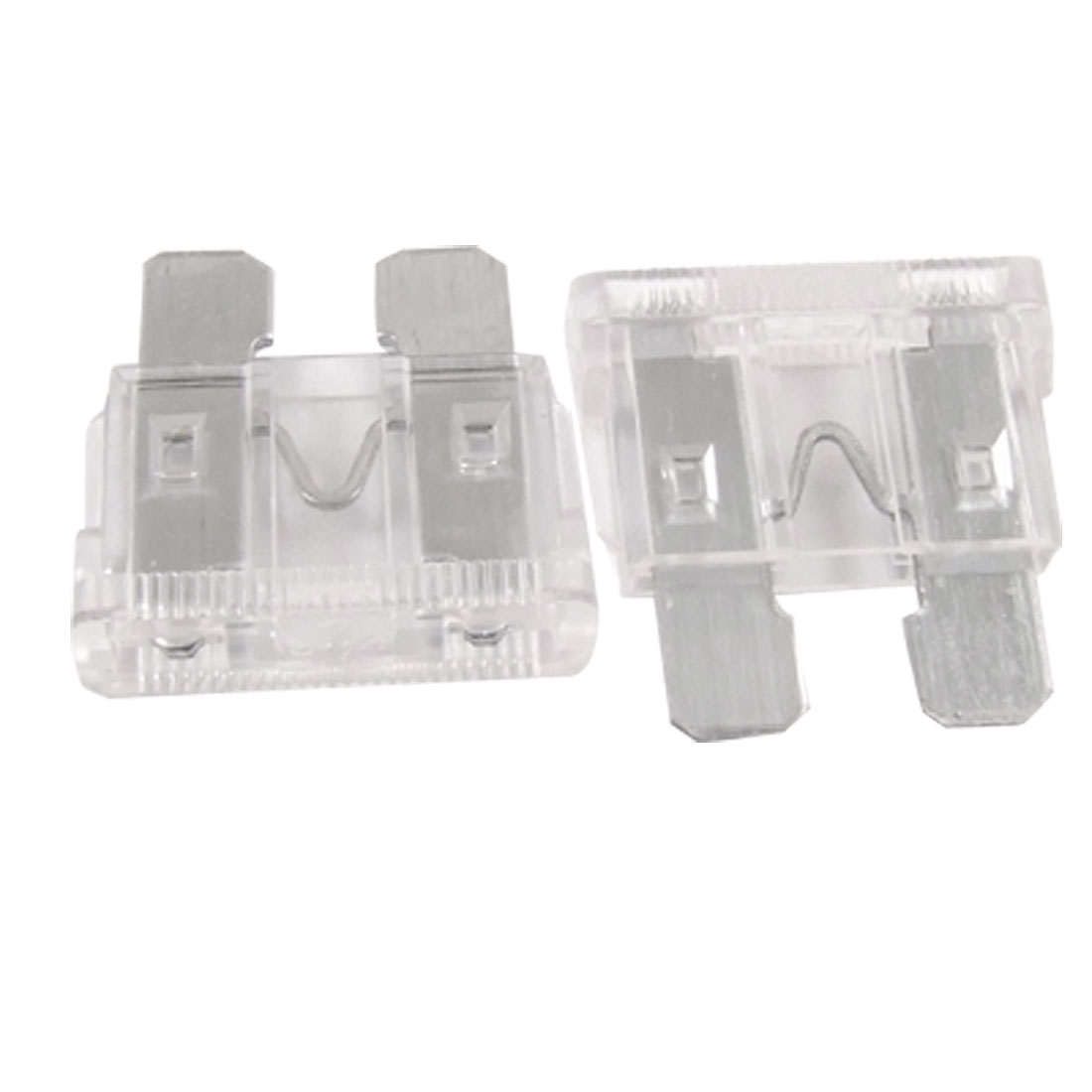 10 x 25A ATC Fuse Auto Car/Boat/Truck Plug-in Blade Fuses Clear