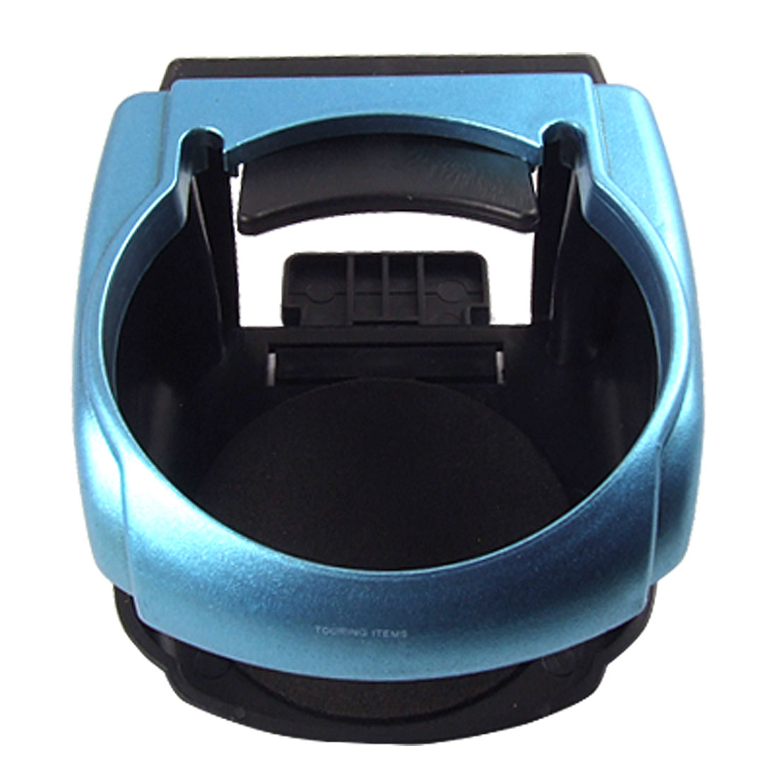 Auto Car Blue Black Plastic Drink Cup Bottle Stand Holder