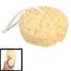 Round Yellow Bath Sponge Body Exfoliate Shower Loop Scrubber