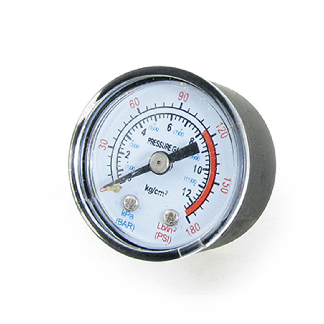 "Air Compressor 0-180 PSI 9/25"" Threaded Dial Pressure Gauge"
