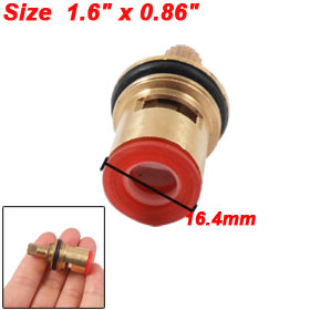 Kitchen Shower Faucet Ceramic Inner Brass Valve Core Gold Tone
