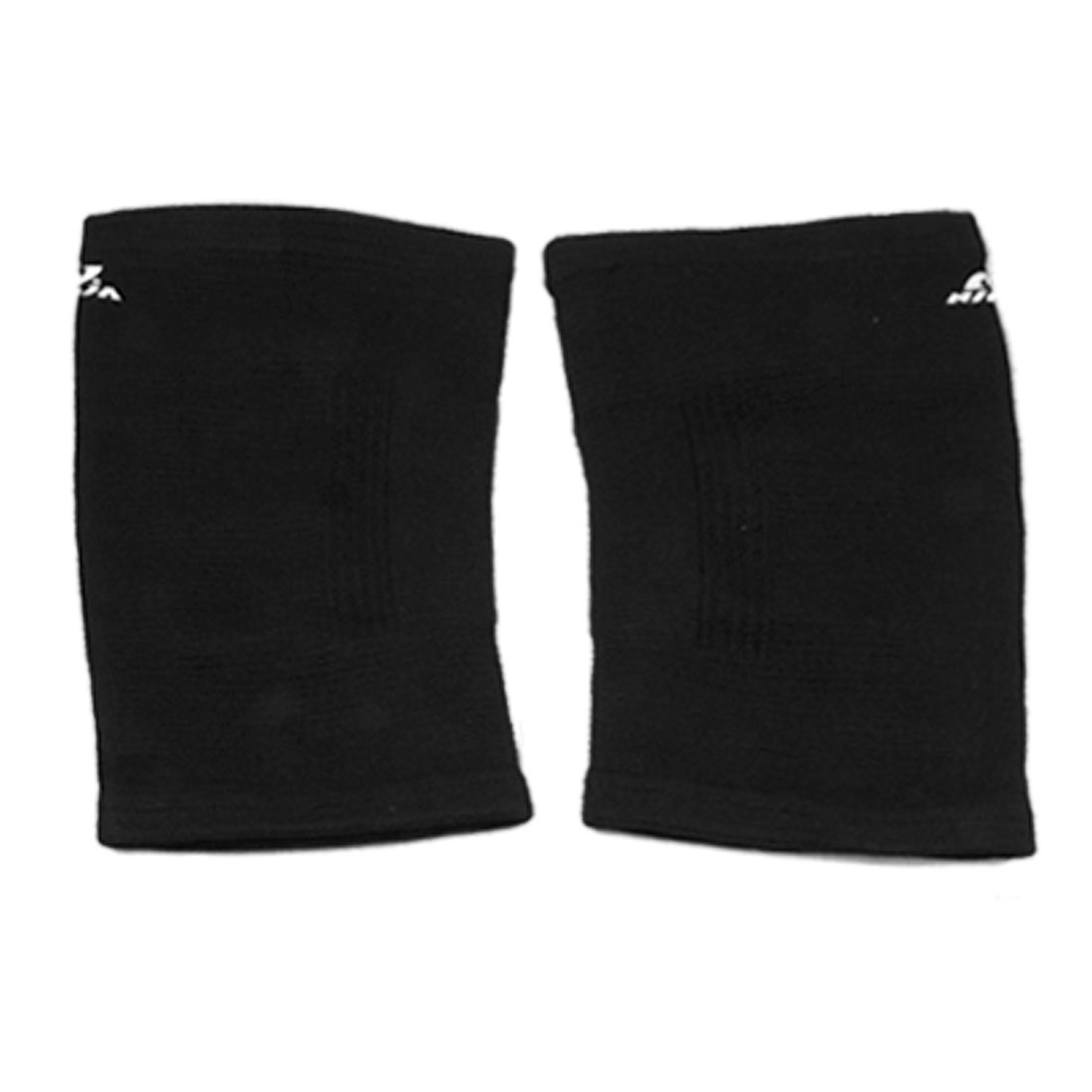 Pair Sports Black Elastic Leg Thigh Support Brace Protector