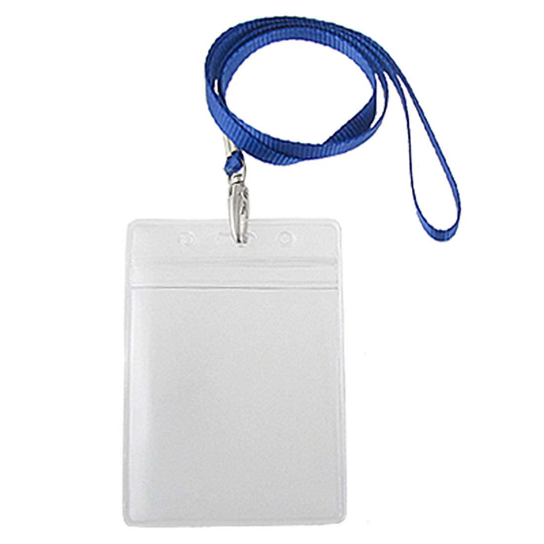 Water Resistant Vertical Exhibition Name Card Pouch Holders 2 Pcs