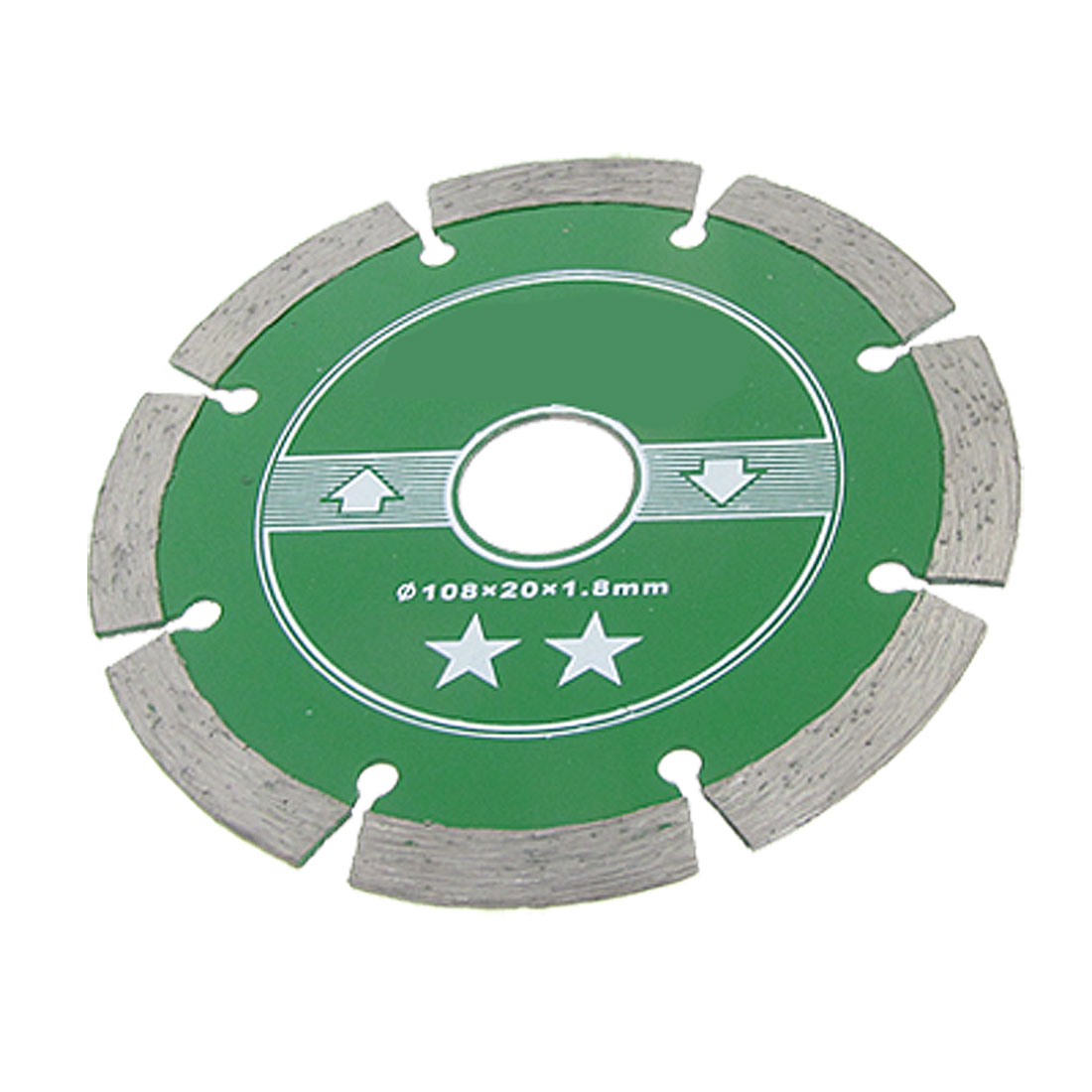 Concrete Tile Cutting Wheel Diamond Coated Saw Cutter 108 x 20 x 1.8mm