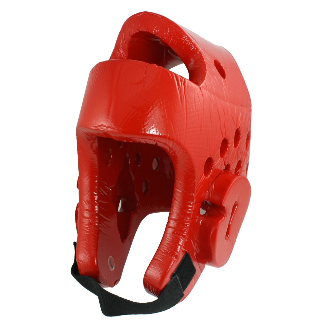 Lady Man Kickboxing Taekwondo Helmet Head Guard Protector Red