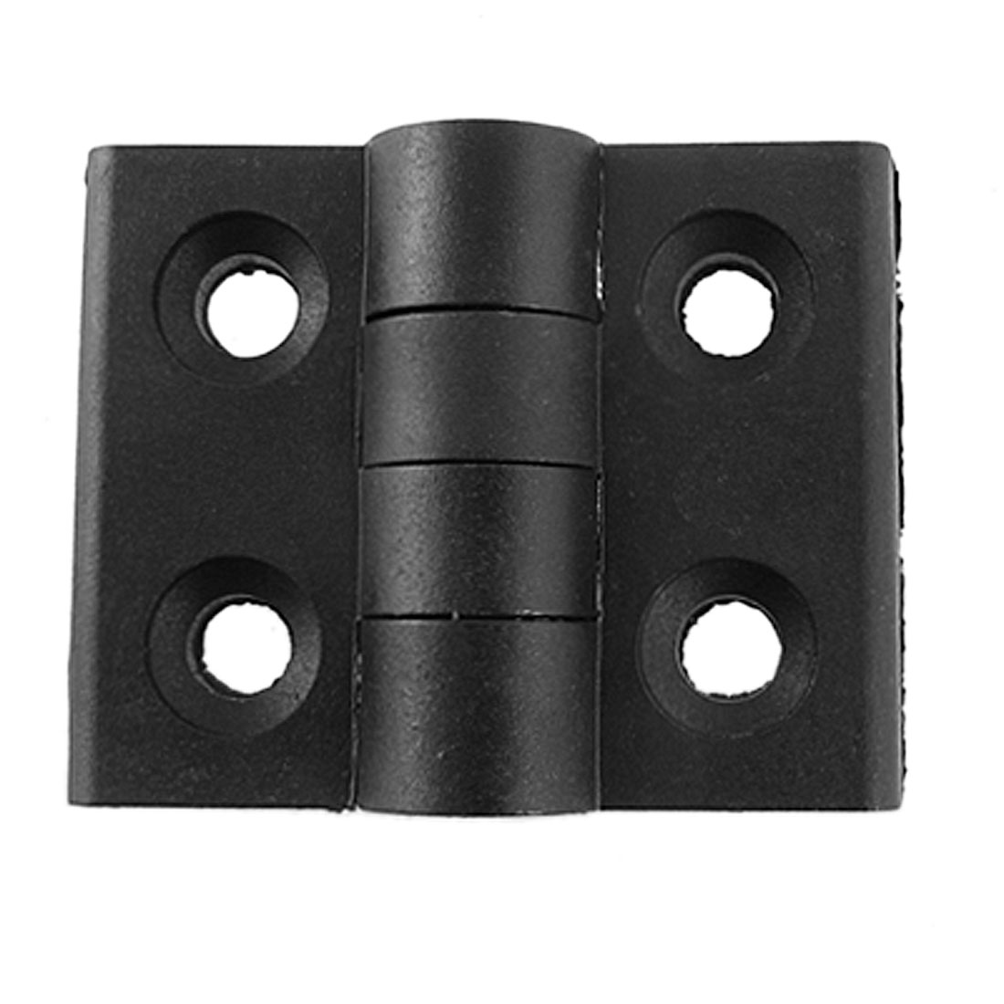 60 x 45mm Metal Axle Plastic Door Radius Hinges 2 Pcs