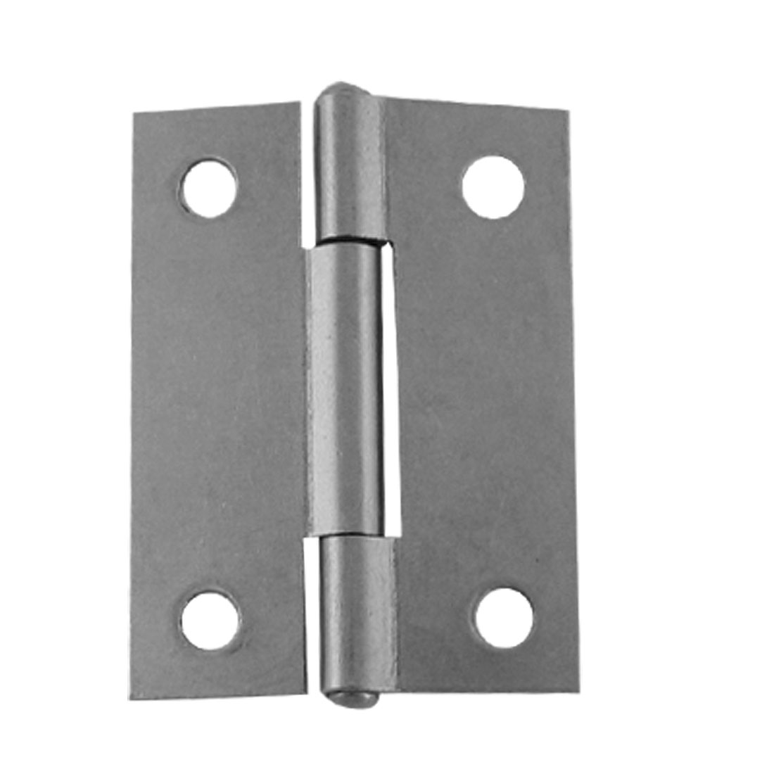 "2"" Length Iron Door Iron Butt Hinges Silver Tone 10 Pcs"