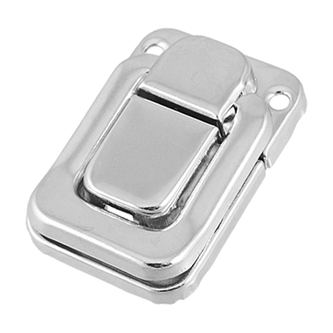 Silver Tone Metal Spring Loaded Cases Boxes Chest Toggle Catch Lacth